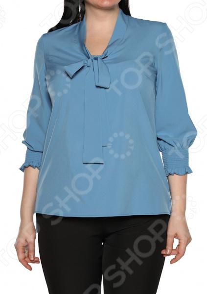 Блуза Blagof «Нежные очертания». Цвет: голубой блуза blagof блуза мерси цвет персиковый