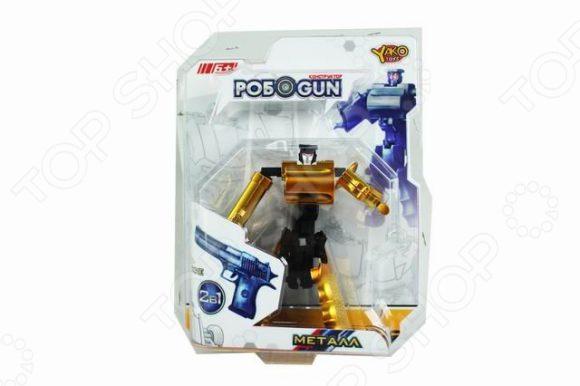 Робот-трансформер Наша Игрушка «Револьвер» M6683-1. В ассортименте игрушка робот 31 век angelic monster в ассортименте