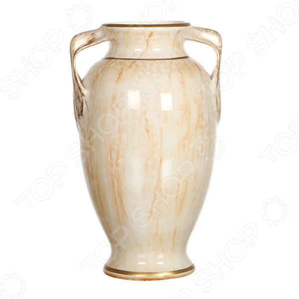 Ваза декоративная «Ирис мрамор» вазы pavone ваза камелия
