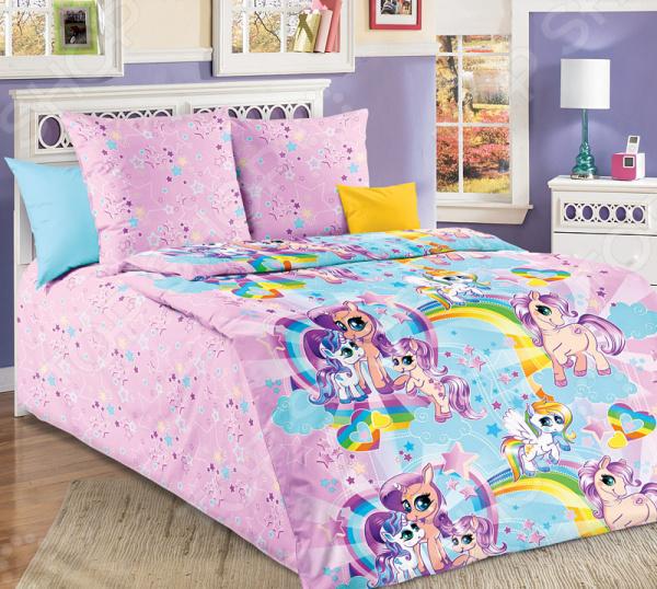Детский комплект постельного белья Бамбино «Звездочка»