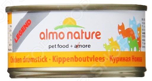 Корм консервированный для кошек Almo Nature Legend «Куриная ножка»