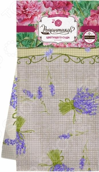 Комплект из 2-х вафельных полотенец Романтика «Прованс» 311674. В ассортименте