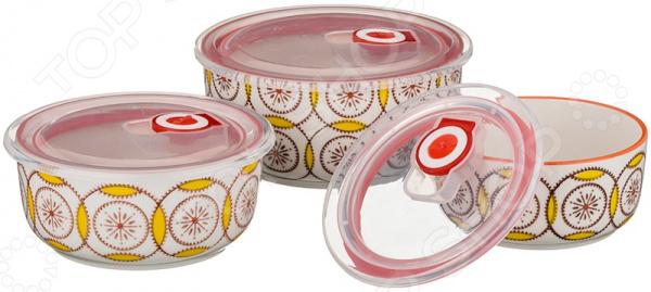 Набор контейнеров для продуктов Agness 546 блюдо agness 546 055