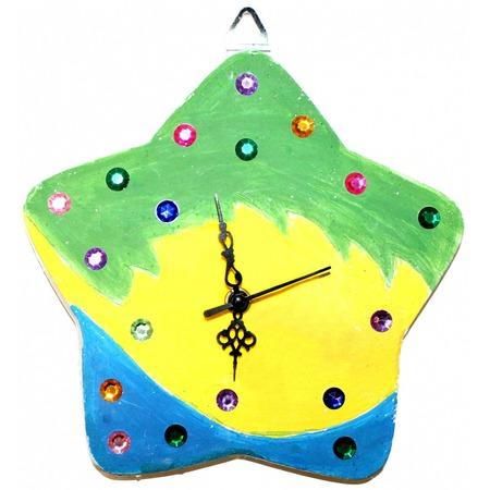 Купить Набор для детского творчества Bradex «Арт-часы. Звезда»