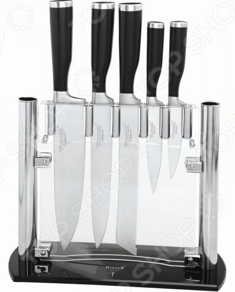 Набор ножей Winner WR-7308 winner нож для сыра winner 21 7 см нержавеющая сталь пластик q4zldzy