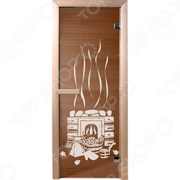 Дверь для бани Банные штучки «Банька» 34012 бани