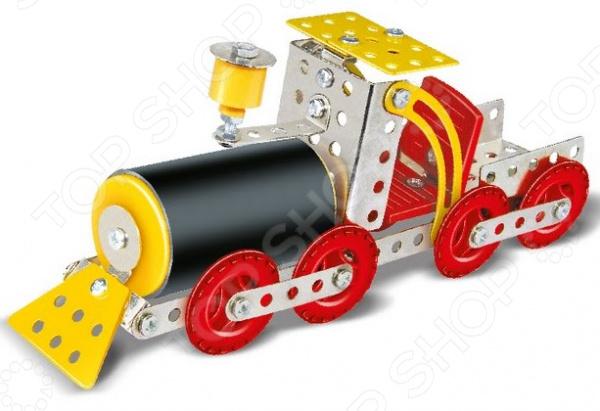 Конструктор металлический Built-Up Toys «Паровоз»