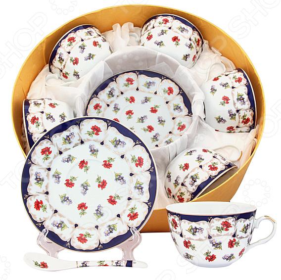 Чайный набор Elan Gallery «Цветочек»
