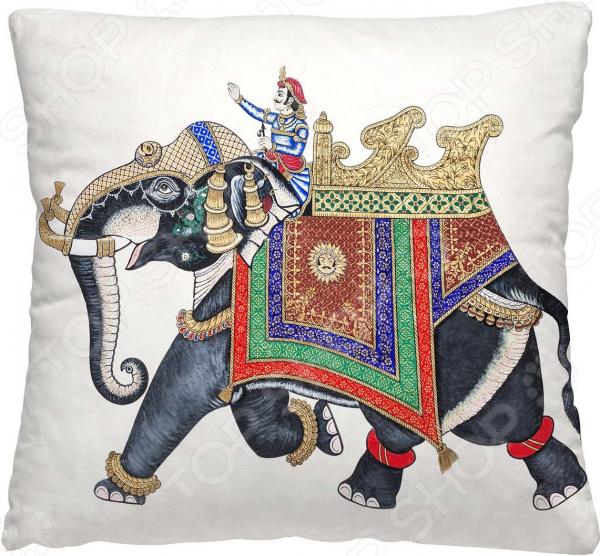 Подушка декоративная Волшебная ночь «Погонщик на слоне»