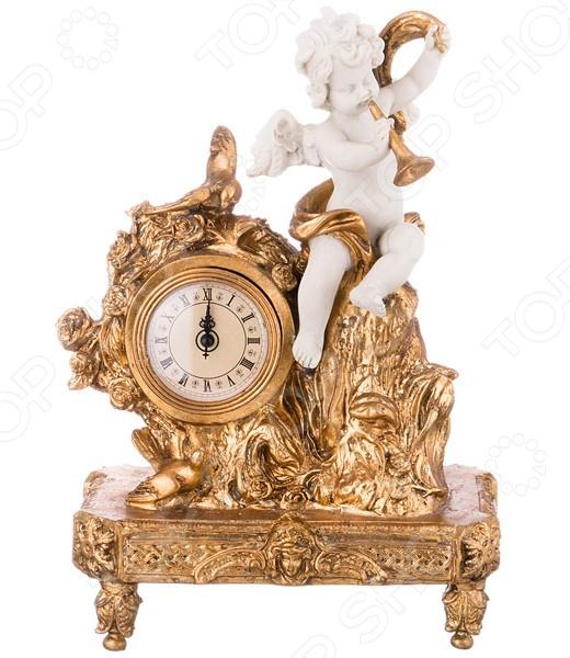 Часы настольные «Ангелочек» 61-311 купить часы мальчику 7 лет