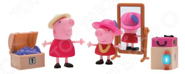 Игровой набор фигурок Peppa Pig «Пеппа и Бабушка в гардеробной»