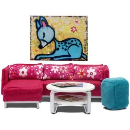 Купить Мягкая мебель для куклы Lundby «Стокгольм. Гостиная»