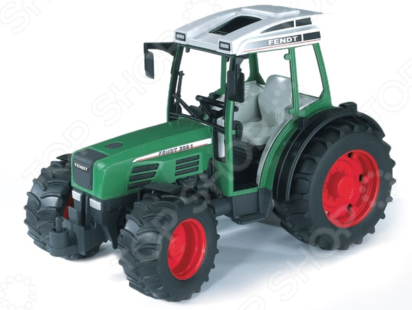 Трактор игрушечный Bruder Fendt 209 S трактор bruder fendt 936 vario с погрузчиком 03 041