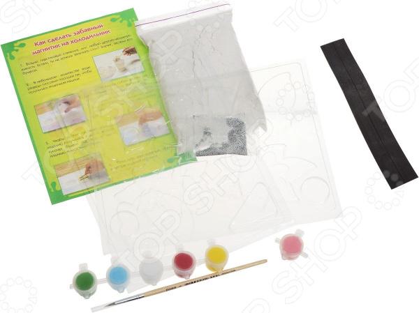 Набор для создания магнитов из гипса Ранок «Бабочки, цветочки, феечки» наборы для творчества фабрика фантазий набор для создания фигурок из гипса на магнитах фрукты и овощи