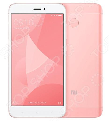 Смартфон Xiaomi Redmi 4X 16Gb стильный и мощный гаджет в металлическом корпусе, который доставит массу удовольствия в процессе использования. Работа с приложениями и современными 3D играми из Google Play, интернет-серфинг, съемка видео и фото, общение со всеми этими задачами с легкостью справится Redmi 4X.  Почему именно Redmi 4X  Производительный, тонкий, легкий и при этом доступный гаджет.  Стильный корпус размером 69,9х139,34х8,65 мм и весом в 150 грамм выполнен на уровне флагманских моделей.  Удобный и интуитивно понятный пользовательский интерфейс MIUI, созданный на базе операционной системы Android 6.0, эффективно раскрывает потенциал аппаратной начинки телефона.  Две камеры высокого разрешения. Безопасность прежде всего  Традиционные пароли морально устарели. Простые не могут гарантировать надежную защиту, а вот сложные легко забыть, что повлечет за собой массу проблем по возвращению доступа к своему же телефону. Со сканером отпечатка пальца не нужно запоминать трудные пароли, ведь все необходимое для доступа к телефону всегда при вас. Кроме того, сканер можно настроить на активацию спуска затвора камеры. Вся мощь внутри  Комфортное использование функций телефона обеспечивается производительной аппаратной начинкой:  Восьмиядерный процессор Snapdragon 435: 4 ядра по 1.4 ГГц и 4 ядра по 1.1 ГГц. Он быстрый, но при этом энергоэффективный.  Видеопроцессор Adreno 505 с частотой 450 МГц.  Оперативная память 2 Гб.  Объем встроенной памяти на 16 Гб может быть увеличен за счет приобретения microSD карты до 128 Гб. Внимание, слот для microSD совмещен со слотом для второй Sim-карты, что делает невозможным их одновременное использование.  Основная камера на 13 МП со светодиодной вспышкой и фронтальная на 5 МП. Последняя прекрасно подойдет для снимков селфи , поскольку оснащена эффектами улучшения автопортрета. Основная камера порадует богатым выбором режимов съемки и быстрым автофокусом от 0,3 с.  Все это заключено в элегантный металлический корпус с естественными изгиба