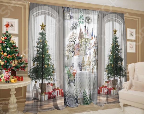 Комплект штор ТамиТекс «Зима за окном»