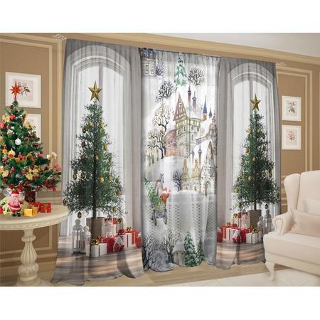 Купить Комплект штор ТамиТекс «Зима за окном»