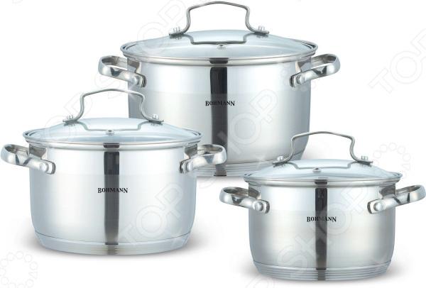 Набор посуды для готовки Bohmann BH-1903 кастрюля bohmann 6 л 0805 24bh