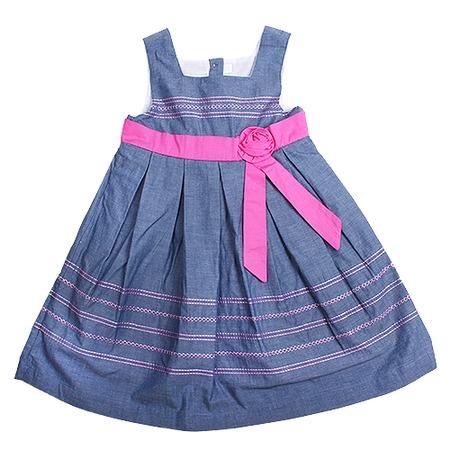 Купить Детский сарафан WWW My dresses ЯВ105885. Цвет: розовый, синий