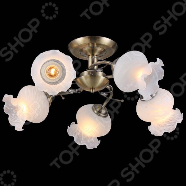Люстра потолочная Natali Kovaltseva 11472/5C ANTIQUE люстра natali kovaltseva 11301 5c antique
