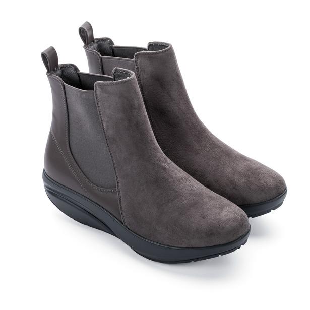 фото Ботинки женские Walkmaxx Стильный Комфорт. Цвет: серый