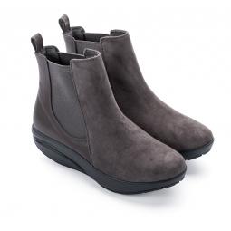 Ботинки женские Walkmaxx Стильный Комфорт. Цвет: серый