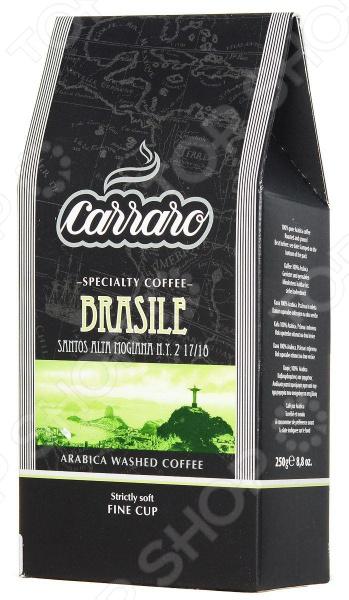 Кофе молотый Carraro Brasile для любителей бодрящего и ароматного кофе. Смесь средней прожарки для приготовления традиционного напитка. Изысканная сладость с оттенками ореха и ароматом поджаренного хлеба. Чашка настоящего кофе прекрасное наслаждение в любое время.