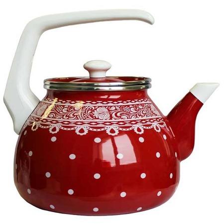 Купить Чайник эмалированный Interos «Ажур» 3661