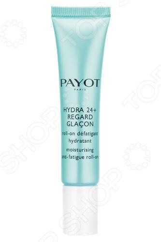 Гель роликовый увлажняющий от усталости глаз Payot Hydra 24 Plus payot hydra 24 увлажняющий крем гель hydra 24 увлажняющий крем гель