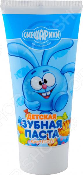 Зубная паста детская Смешарики «Конфетная»
