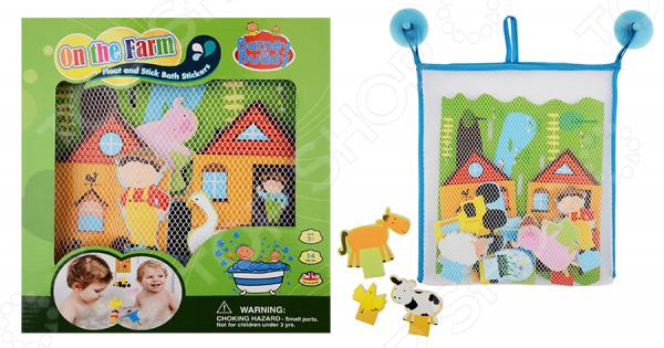 Набор фигурок-стикеров для ванны Barney&Buddy «Веселая ферма» обучающая книга азбукварик я прекрасная принцесса 9785490001553