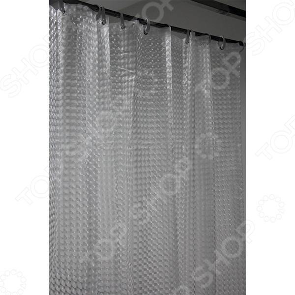 Штора для ванной KISH A023 iq spa штора для ванной комнаты 180х200 100% пвх