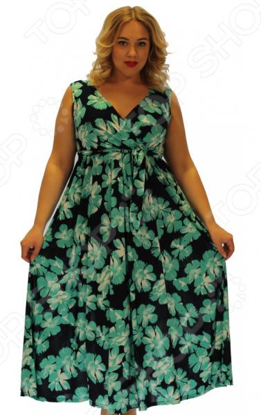 Платье Матекс «Вечные ценности». Цвет: голубой