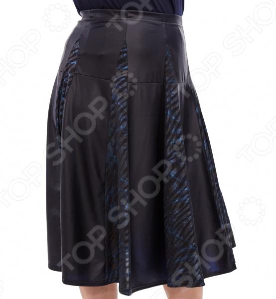 Юбка Pretty Woman «Бажена». Цвет: синий юбка woman цвет черный