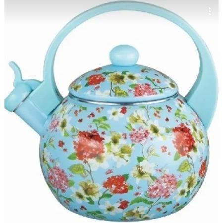 Купить Чайник эмалированный Kelli KL-4455 «Флоксы»