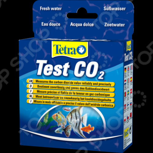 Тест на углекислоту для пресной воды Tetra Test CO2 мастер кит mt8057s детектор углекислого газа