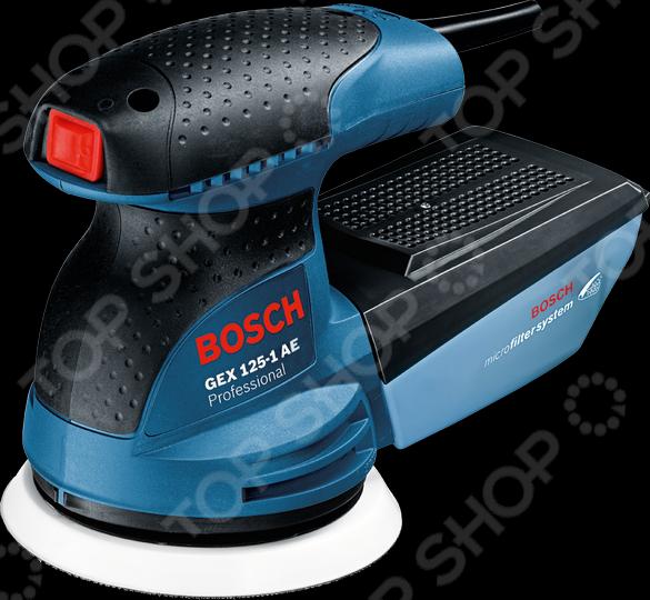 Машина шлифовальная эксцентриковая Bosch GEX 125-1 AE