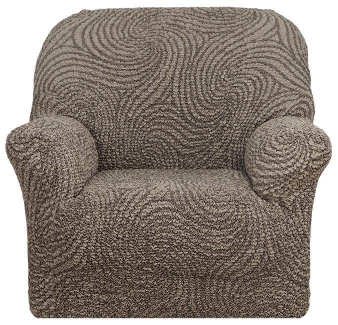Натяжной чехол на кресло Еврочехол «Этна. Сицилия» 1