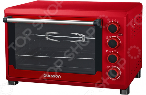 лучшая цена Мини-печь Oursson MO3815/RD