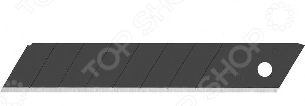 Лезвия для ножа OLFA Black Max OL-LBB-10B лезвие сегментированное olfa 18х100х0 5мм 8 сегментов 50шт black max ol lbb 50b