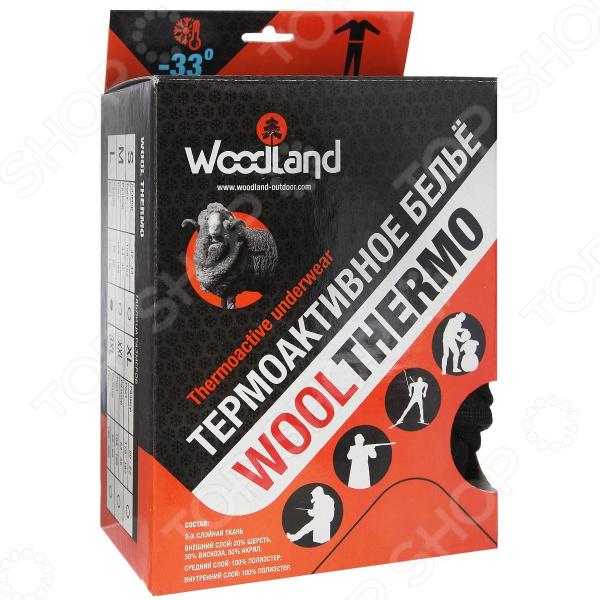 Комплект термобелья WoodLand Wool Thermo 4