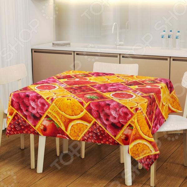 Скатерть ТексДизайн «Яркий вкус» сервировка стола
