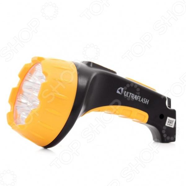 Фонарик аккумуляторный Ultraflash C-3815 10 шт лот бесплатная доставка при кабинете 220 в затемнения круглый мини удара светодиодные светильники