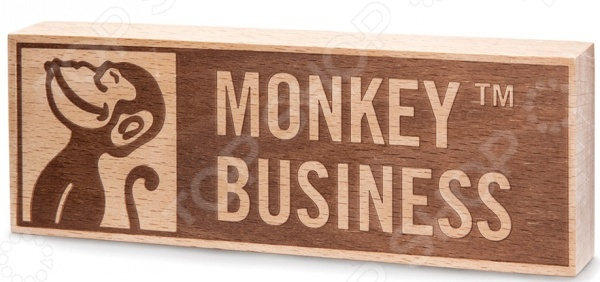 Табличка Monkey Business Logo