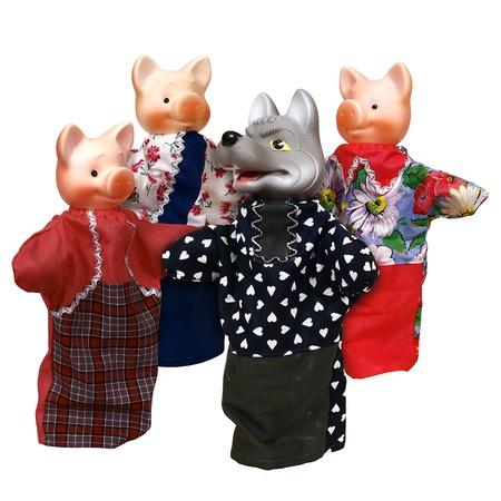 Купить Кукольный театр Огонек «Три поросенка». В ассортименте