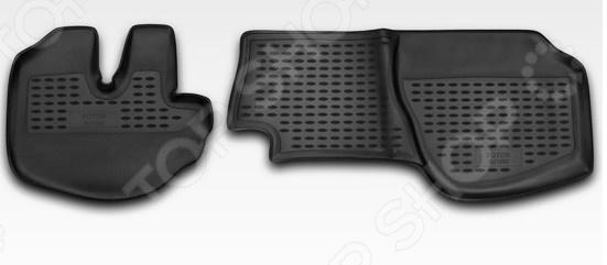 Комплект ковриков в салон автомобиля Novline-Autofamily Foton BJ1069 2007 комплект 3d ковриков в салон автомобиля novline autofamily ford mondeo 2015