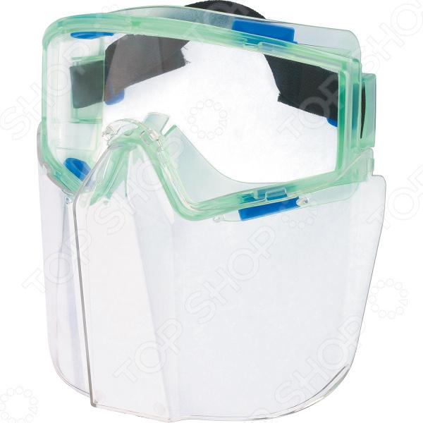 Фото - Очки защитные СИБРТЕХ «Панорама» 89167 очки сибртех 89156 защитные открытого типа затемненные ударопрочный поликарбонат