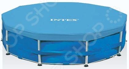 Тент для каркасного бассейна Intex 28031 intex тент для каркасного бассейна intex 28032 457 см