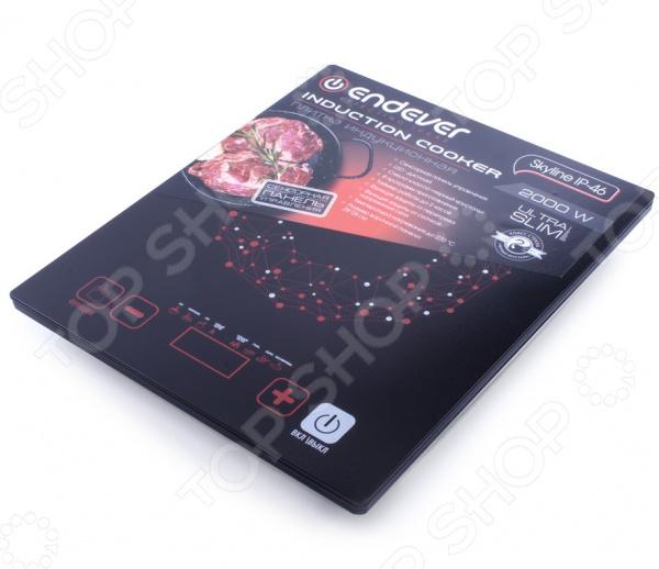 Плита настольная индукционная Endever Skyline IP-46 электрическая плита endever ip 28 закаленное стекло индукционная черный [80033]