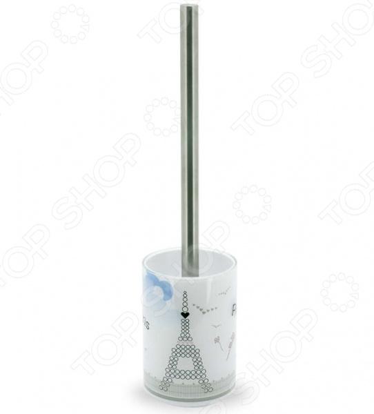 Ёршик для туалета Tatkraft Paris Mademoiselle Acryl 3D крючок двойной tatkraft mega lock на вакуумном шурупе